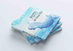 """Kinderbuch """"POTTI DER KLEINE WAL""""  von  Julie Lorenzi"""