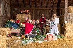 Der E.ON-Weihnachtsmann und seine Freunde 2019 – ganz im Zeichen der Nachhaltigkeit!