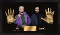 Hand in Hand für Norddeutschland: NDR 2 versteigert Handabdrücke aus Gips für den guten Zweck