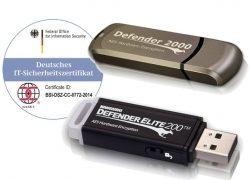 Sichere BSI zertifizierte USB-Stick's nach EU-DSGVO wieder lieferbar