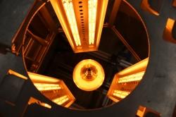 Infrarot-Strahler sparen Platz und Zeit bei der Herstellung von Elektromotoren
