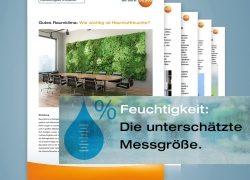 Unterschätzte Messgröße Feuchtigkeit: Testo Know-how-Reihe