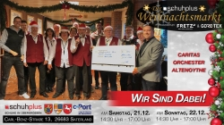 schuhplus in Sedelsberg wird vom Caritas Orchester Altenoythe musikalisch unterstützt