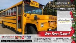 Omnibusbetrieb Nienaber fährt im American Style zum schuhplus – Weihnachtsmarkt in Sedelsberg