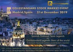 Goldener Dezember in Madrid – Fußballlegenden folgen dem Ruf der Gold Standard Banking Corporation AG!
