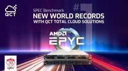 QCT Server mit AMD EPYC™- Prozessoren liefern laut SPEC-Organisation Spitzenleistung und setzen neue Weltrekord-Benchmarks
