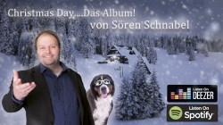 Weihnachtsalbum Christmas Day von Musikproduzent Sören Schnabel