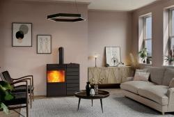 Immer ein Gewinn: Modernes Kaminfeuer unterstützt die Heizung