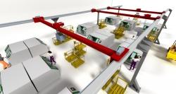 Fortschritt virtueller Logistikplanung