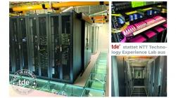 tde stattet NTT Technology Experience Lab mit tML-24- und tML-32-Verkabelungssystemen aus
