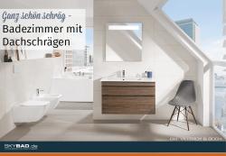 Ganz schön schräg – Badezimmer mit Dachschrägen
