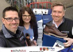 schuhplus und Gore Tex Brand spenden Schuhe von FretzMen an Wohnungslose in Oldenburg