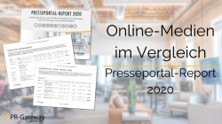 Der Presseportal-Report 2020 ist das optimale Werkzeug für Ihre Medienarbeit