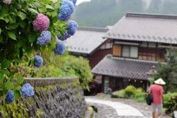 Japan-Kurort Gero-Onsen und Nakasendo Städte Magome und Tsumago auf der…