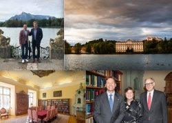 """Ein neuer """"Roter Salon"""" für Schloss Leopoldskron"""
