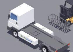 Elektro-LKW: Warum lange laden, statt schnell zu wechseln?