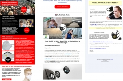 Atemmasken sind Mangelware – Cyberkriminelle locken mit Fake-Shops
