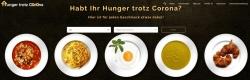 """Lieferdienste für Essen aller Art bei """"Hunger trotz Corona"""""""