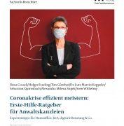 Coronakrise effizient meistern Kostenloser Erste-Hilfe-Ratgeber für Anwaltskanzleien