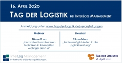 Tag der Logistik – InterLog Management ist virtuell dabei