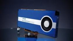 Die AMD Radeon Pro W5500 Workstation-Grafikkarte