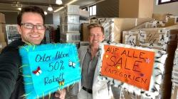 Mega Aktion zu Ostern bei schuhplus: 50% Rabatt auf große Schuhe im SALE