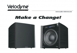 "Velodyne Acoustics DD-10 Plus Subwoofer – Geld sparen mit der Trade-In-Aktion ""Make a Change"""