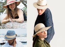 Bleiben Sie gesund! Headwear bieten UV-Schutz. Hutverband gibt praktische und modische Tipps