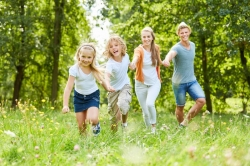 Mit der ganzen Familie körperlich aktiv werden!