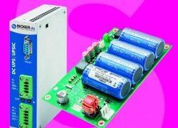 Jetzt bei Schukat: DC-USV-Systeme von Bicker Elektronik