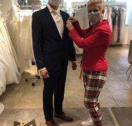 Haus der Braut & Gentleman in Mönchengladbach: Persönliche Beratung – auch mit Maske