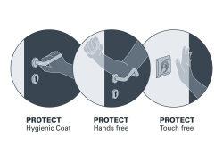 Dreistufiges Hygienekonzept für Türen schützt vor Infektionen