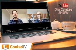 Contao TV – das neue Event-Format. Gemeinsam aber mit Abstand!