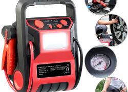 revolt 5in1-Starthilfe-Powerbank & Kompressor