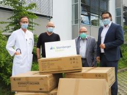 ENGIE Deutschland: 10.000 FFP2-Atemschutzmasken für Starnberger Kliniken