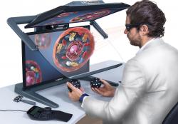 Komfortables 3D-Stereo Arbeiten in der Medizintechnik