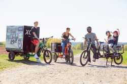 Neues Lasten E-Bike – GWW baut ihre Marke XCYC Pickup weiter aus