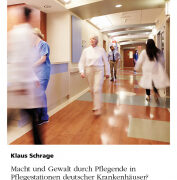 Wie man Gewalt auf Pflegestationen verhindern kann
