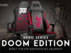 Neu: noblechairs HERO Series DOOM Edition Gaming-Stuhl!