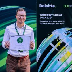 App Agentur Ackee gewinnt Deloitte Technology EMEA Award