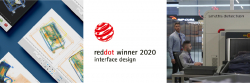 "Sieger des Red Dot 2020 im Award ""Interface Design"""