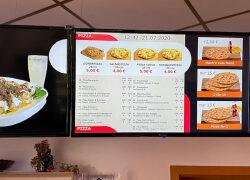 NoviSign und Alladin Restaurant präsentieren Digitale Menüs
