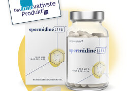 "SpermidineLIFE ""innovativstes Produkt 2020"""