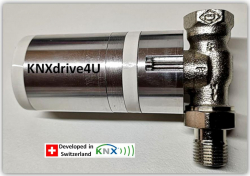 KNXdrive4u – Der erste KNX RF S Ventilantrieb
