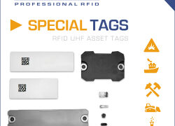 iDTRONICs RFID On-Metal Asset Tags