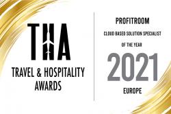 THA Awards 2021: Profitroom ist Spezialist Cloud-basierter Lösungen in Europa