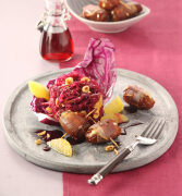 Herzhafte Herbstküche mit Fruchtsaft und Co