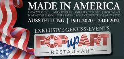 POPupART-Restaurant in der Galerie Bilder Fuchs in Fulda