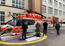 Neuer Rettungshubschrauber für NAW Berlin