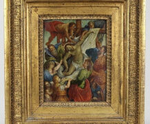 Ein Gemälde aus dem Rubens-Umkreis in Bielefeld entdeckt.